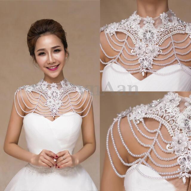 Lace Wedding Dress with Shawl