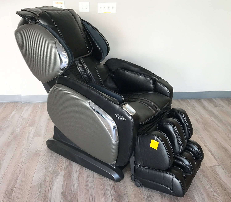 Black Osaki Os 4000cs Zero Gravity Massage Chair Recliner Heat