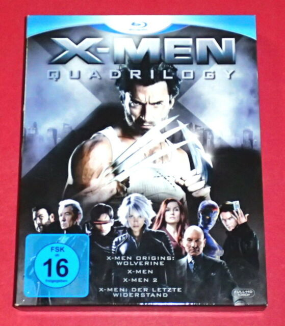 X-Men - Quadrilogy -- 4er-Blu-ray
