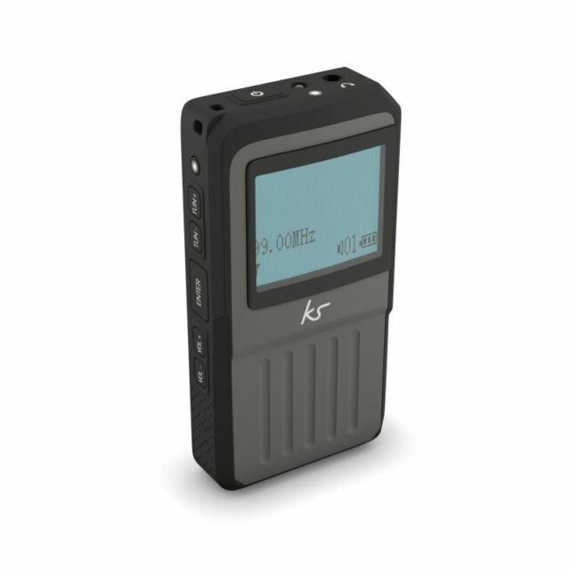 Kitsound Portable DAB Radio Pocket FM with LED Display