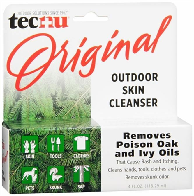 Tecnu Outdoor Skin Cleanser 4 oz (Pack of 4) Aloetouch Personal Cleansing Wipes -Case of 576  10 Pack
