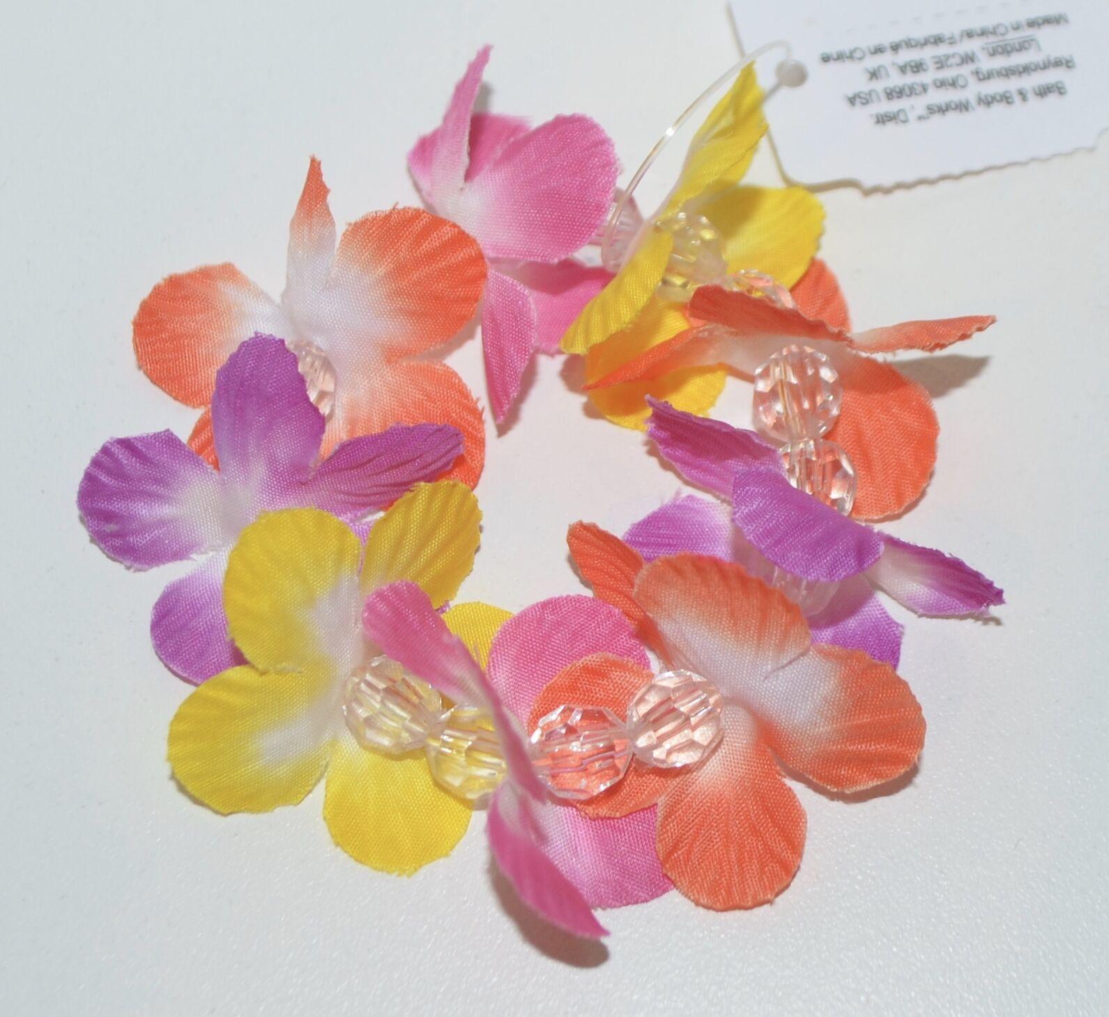 Bath Body Works Hawaiian Flowers Lei Bottle Topper Lid Lotion Mist