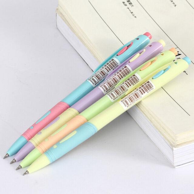 Image is loading 10Pcs-Cute-Milky-Gel-Pens-Ballpoint-Pen-Set-