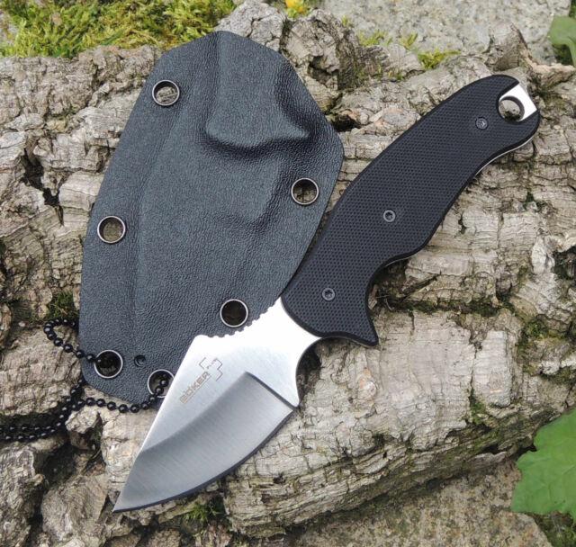 Böker Plus Tac-Neck Neckknife Messer Outdoormesser 440C Stahl G-10 Griff 02BO006