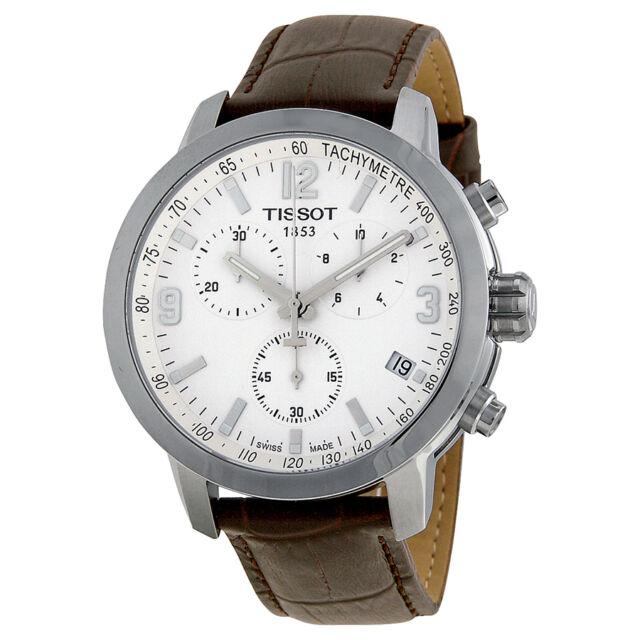 Tissot PRC 200 Brown Leather Mens Watch T0554171601701-AU