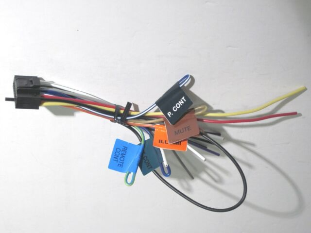 original kenwood dnx891hd wire harness oem a1 ebay. Black Bedroom Furniture Sets. Home Design Ideas