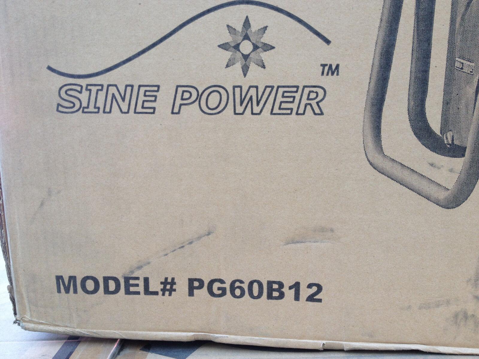 ETQ PG60B12 Portable Propane 7000 Watt Generator