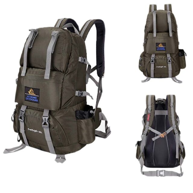 50l Climbing Bag Internal Frame Backpack Outdoor Sports Camping ...