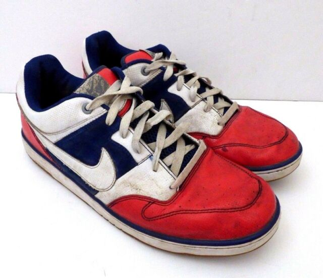 Rare Nike Air Zoom Skater Shoes Sneakers Red White Blue / Style 383433-991 US 14