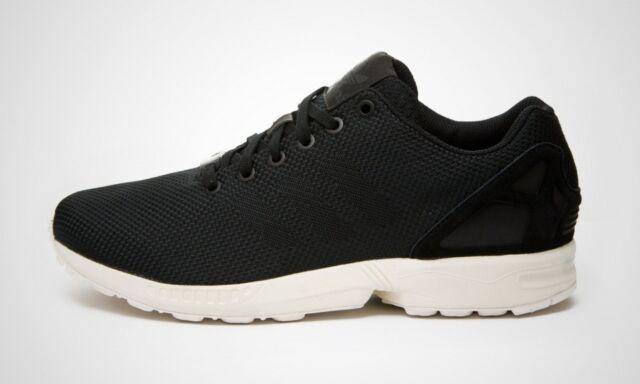 Adidas Originals ZX Flux Black Red Fire Retro 11.5 Mens 12 Nike USA TrainersWeave