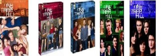 "DVD Set "" One Tree Hill - Season/Staffel 1+2+3+4+5 NEU"