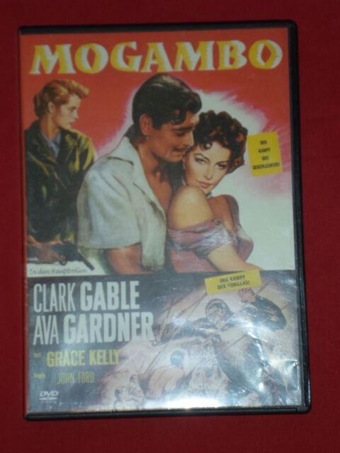 """Clark Gable,Ava Gardner,Grace Kelly in """"MOGAMBO"""""""