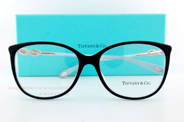 7d244a2874 Tiffany   Co. Eyeglass Frames 2143b 8055 Black Sz 55 Women .