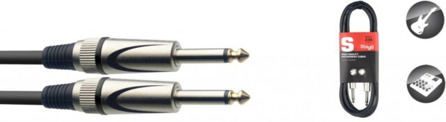 Stagg 6m High Quality Deluxe Instrument Cable - SGC6DL