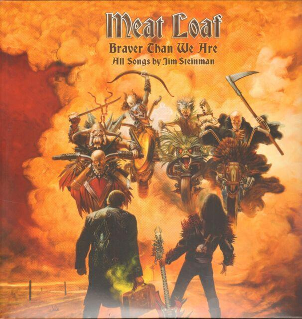 MEAT LOAF - Braver Than We Are          2LP    !!! NEU !!!