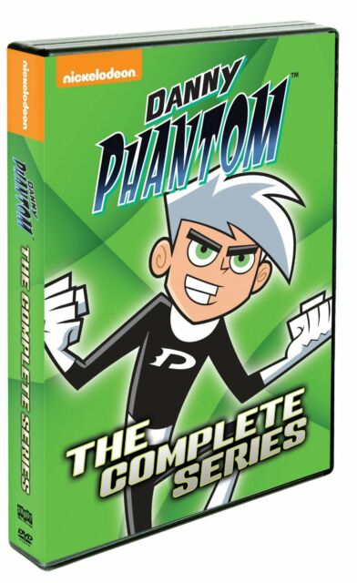 DANNY PHANTOM : THE COMPLETE SERIES (animation) - DVD - Region 1 Sealed
