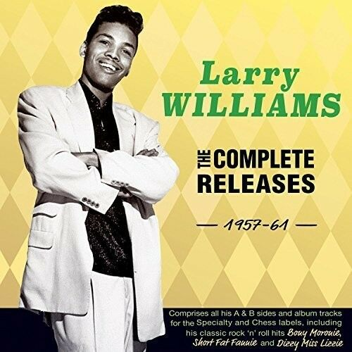 Larry Williams - Complete Releases 1957-61 [New CD]
