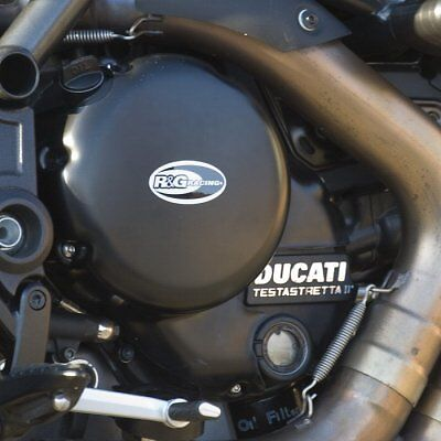 R&G Racing Right Hand Engine Case Clutch Cover to fit Ducati Diavel / Strada