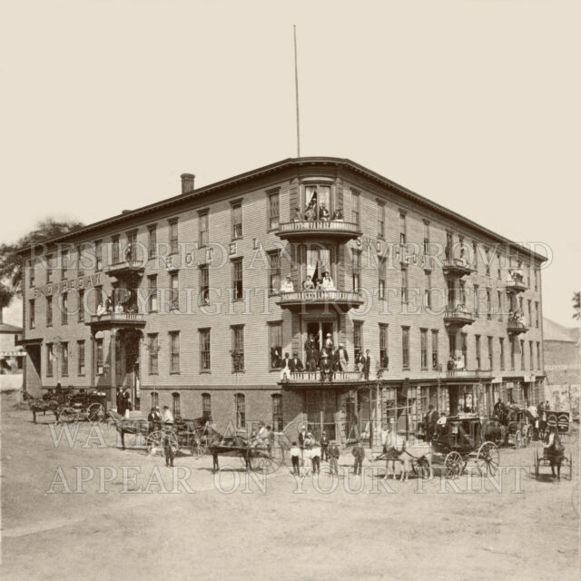 Skowhegan Maine Me Hotel 1890s Kennebec Photo Choices 5x7 Or Request 8x8 8x10