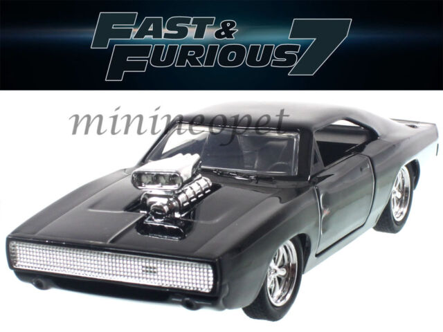 jada fast furious 1970 dodge charger with engine blower hard top 1 32 scale ebay. Black Bedroom Furniture Sets. Home Design Ideas