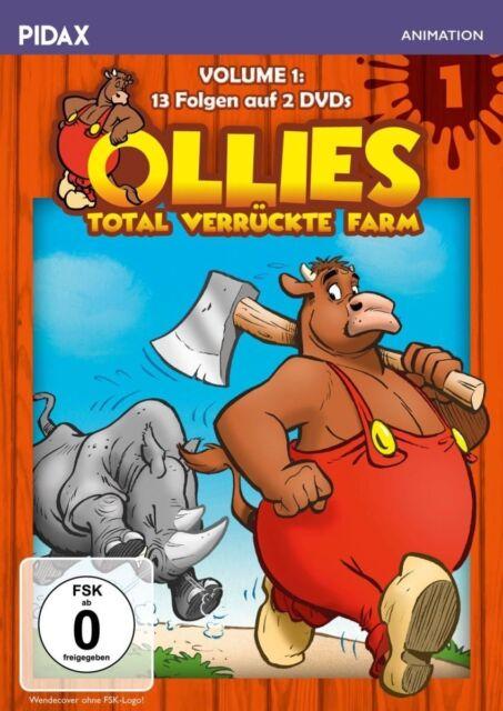 Ollies total verrückte Farm Vol. 1 * DVD 13 Folgen der humorvollen Serie Pidax