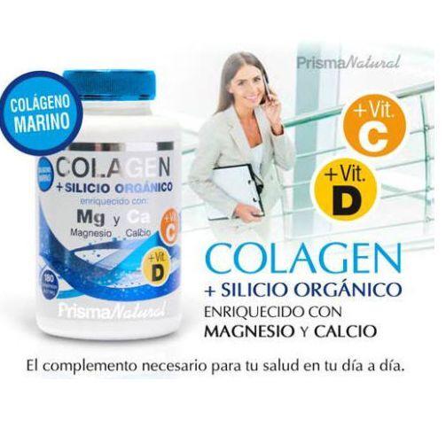COLLAGEN + SILICON ORGANIC + MAGNESIUM + CALCIUM 180c 814mg PRISMA NAT