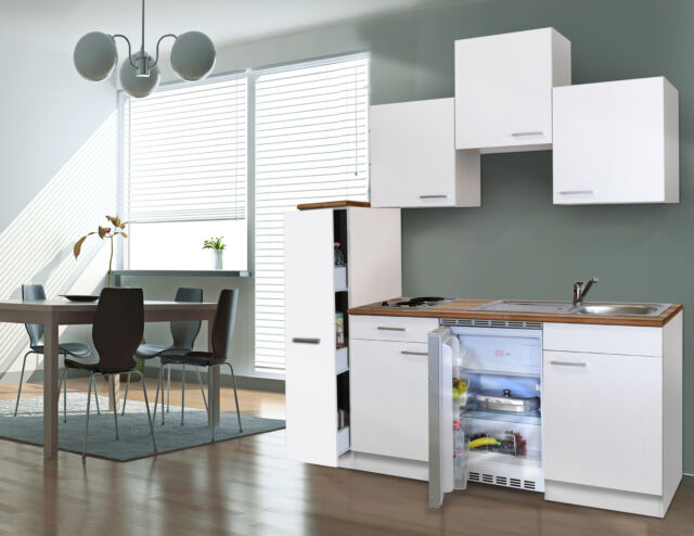 Respekta Blocco cucina angolo cottura Bianco 180 cm 150 30 ...