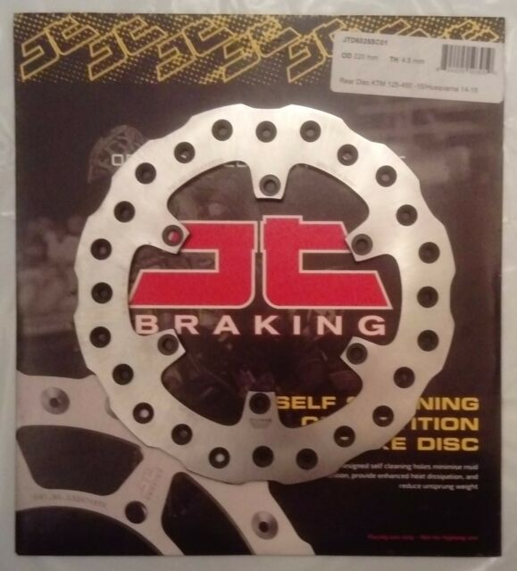Honda CR85 (2003 to 2007) JT Brakes Self Cleaning REAR 190mm Brake Disc (1009)