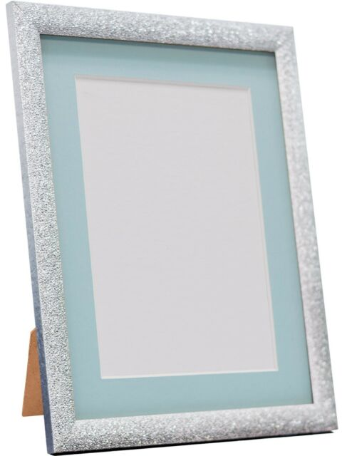Glitz Gunmetal Picture Photo Frames With White Black and Other ...