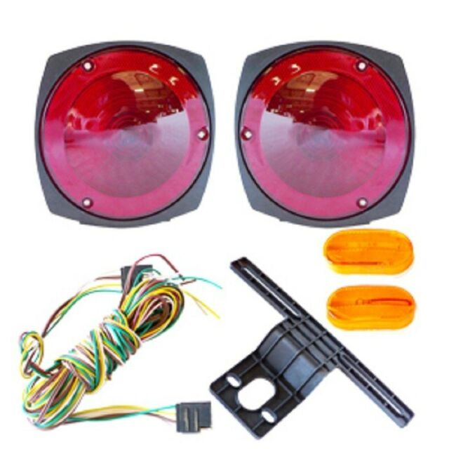s l640 12v trailer light kit w wiring harness replacement brake marker  at n-0.co