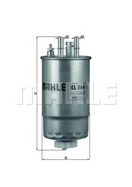 MAHLE / KNECHT Kraftstofffilter KL 566 ( KL566 )