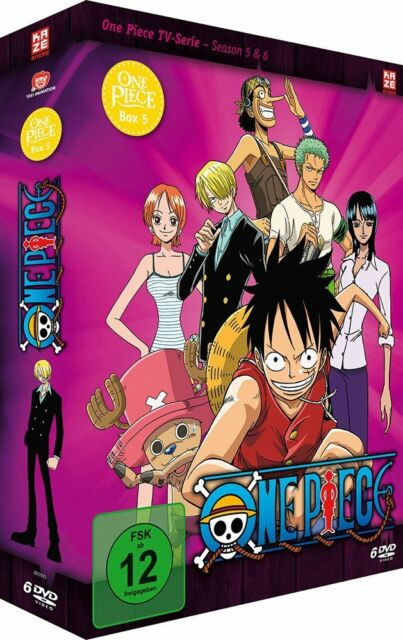 One Piece - TV Serie - Box 5 - Episoden 131-162 - DVD - NEU