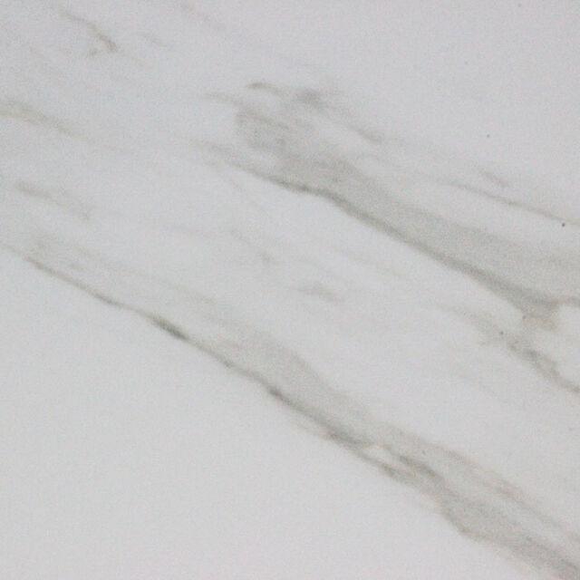 Carrara White Marble Effect Polished Porcelain Wall Floor Tiles