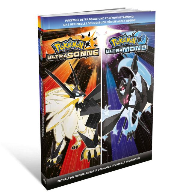Pokémon Ultrasonne und Pokemon Ultramond - Das offizielle Lösungsbuch Neuware