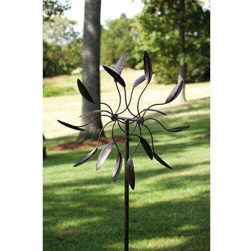 Wind Spinner Garden Yard Decor Windmill Sculpture Outdoor Kinetic ...