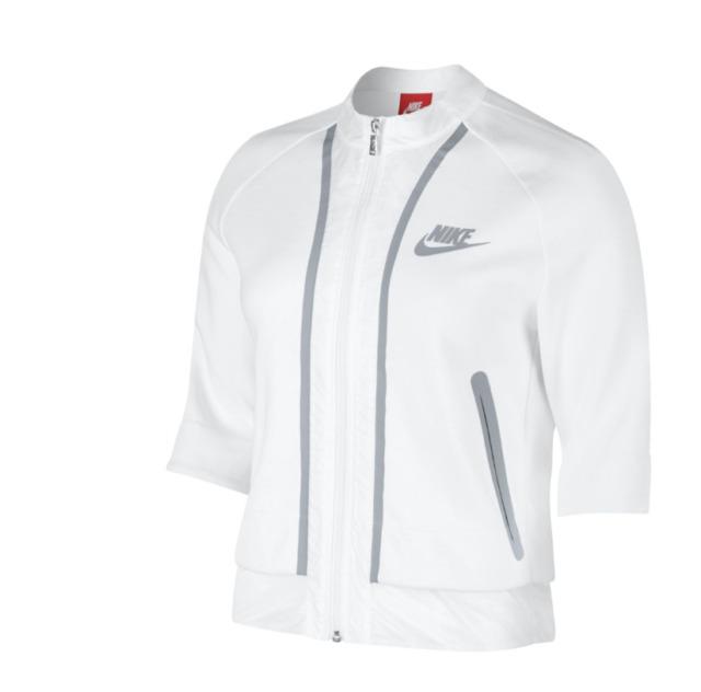 Women's Nike Tech Fleece Cropped Splatter - Jacket LC467693j