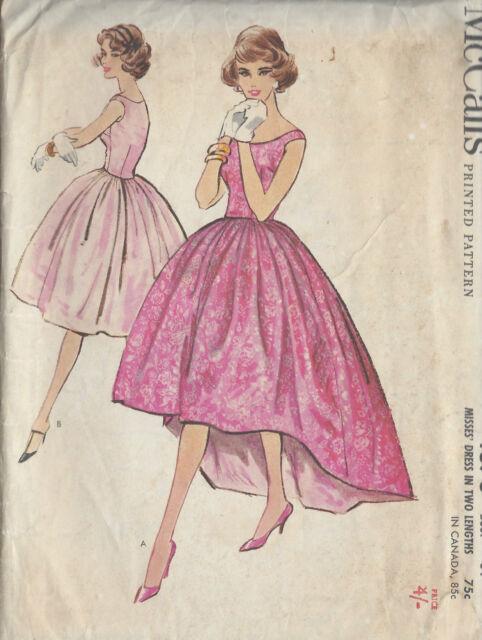 Schnittmuster 1959 Vintage Nähen B34 Kleid R909 | eBay