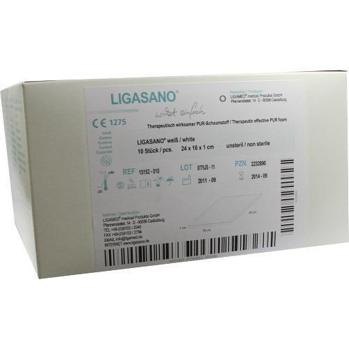 LIGASANO Kompressen 1x16x24 cm Kleinpackung 10 St PZN 2232890