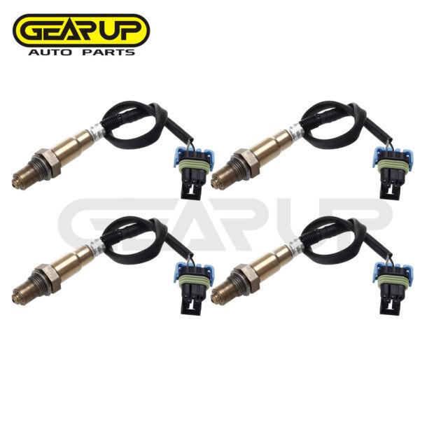 4pcs Upstream Downstream O2 Oxygen Sensor For Buick Cadillac Chevy Rhebay: Saab 9 3 Downstream O2 Location At Gmaili.net