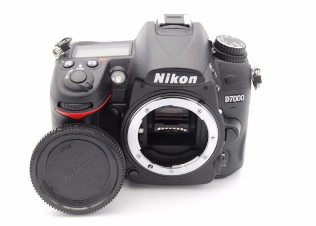 Nikon D7000 16.2MP 3''Screen DSLR Camera BODY W/ BATTERY