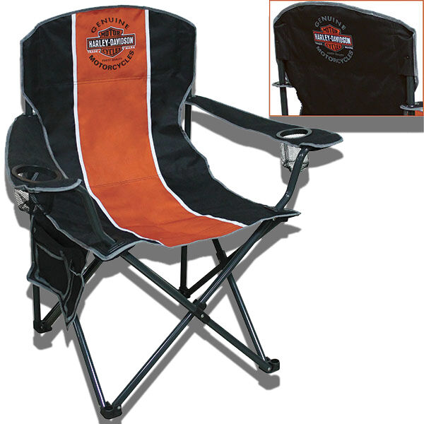 Harley Davidson Compact Folding Camp Chair   CH31264