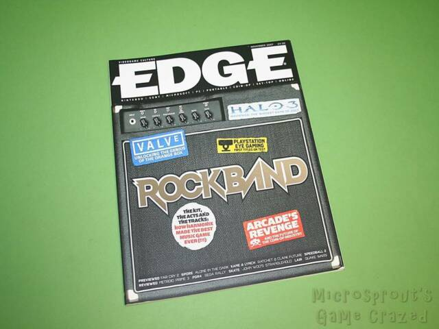 Edge Magazine - Issue 181 - November 2007 *Rock Band Cover*