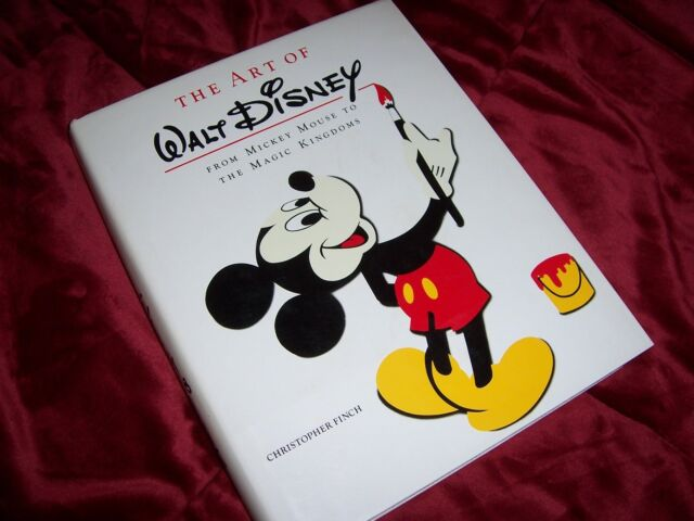 The Art of Walt Disney : From Mickey Mouse to the Magic Kingdoms, hardcover