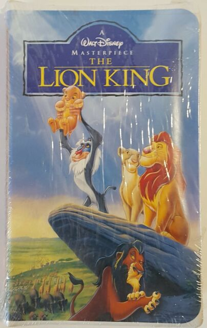 the lion king  vhs  2003