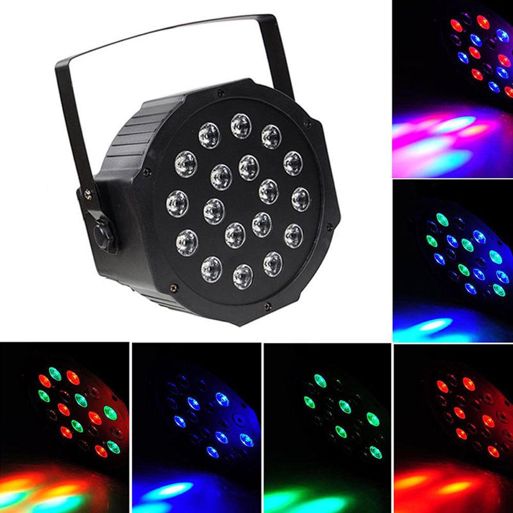 Picture 1 of 8 ...  sc 1 st  eBay & Par Can 18 RGB LED Stage Light Disco DJ Bar Effect up Lighting ... azcodes.com