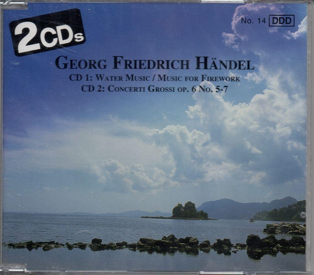 Georg Friedrich Handel Cd1 Water Music - Music for Firework Cd2 ...