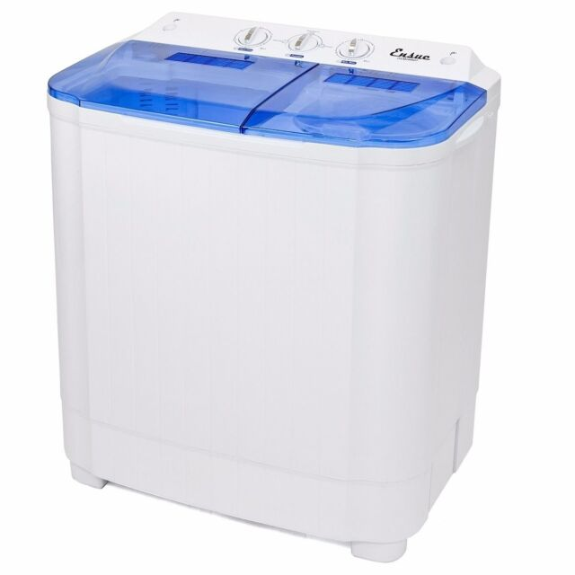 Portable Washer Machines Compact 8 - 9lb Washing Spin Dryer Laundry ...