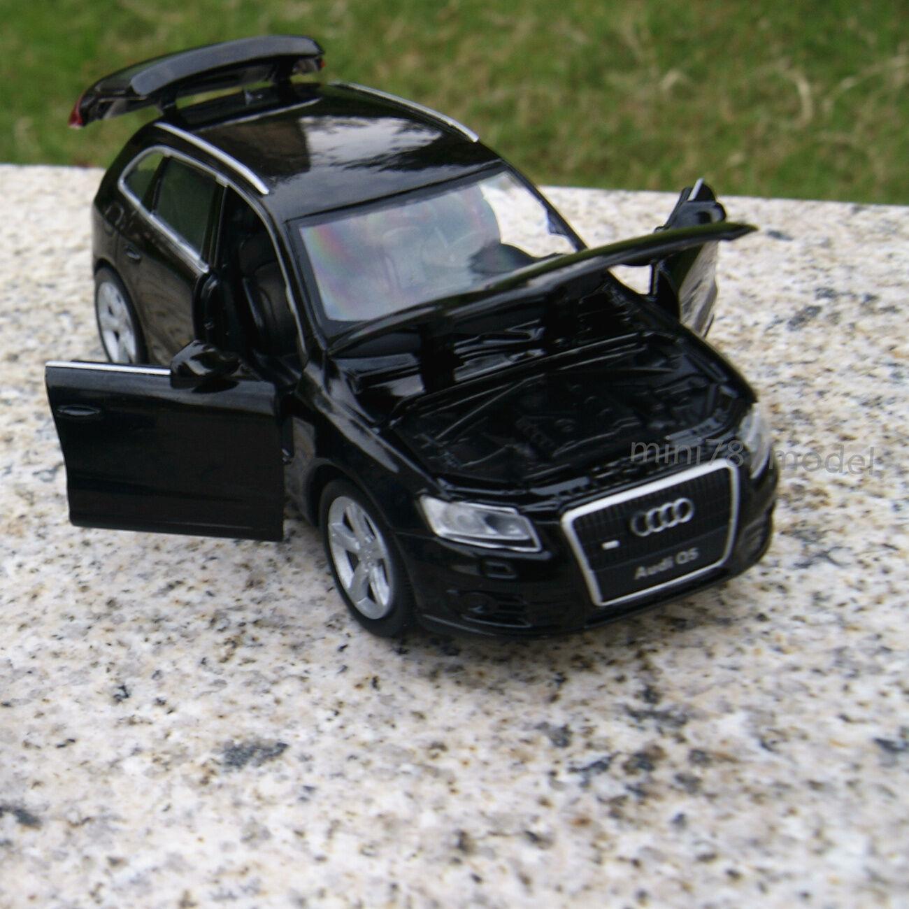 AUDI Q Alloy Diecast Model Cars Soundlight Black Childrens - Audi lowest model price