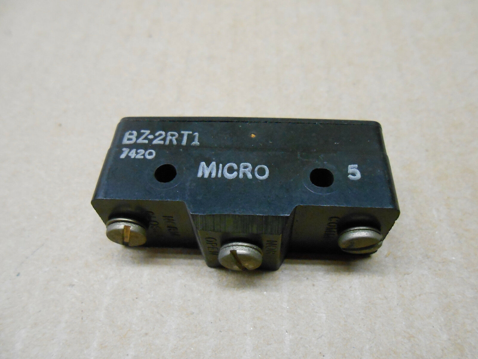 1 Honeywell Micro Switch Bz 2rt1 Bz2rt1 Snap Action Basic Limit Lever Actuator Microswitch Spdt 5a Ebay Picture Of 3