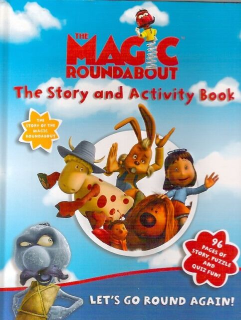 MAGIC ROUNDABOUT STORY & ACTIVITY BOOK 2005 hb Childrens classic Collectable VG